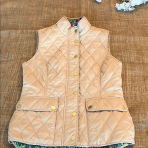 Lilly Pulitzer Vest.